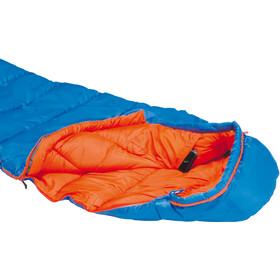 High Peak Comox Sacos de dormir Niños, light blue/orange